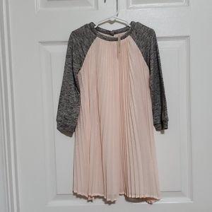 Baby Gap mix fabric dress